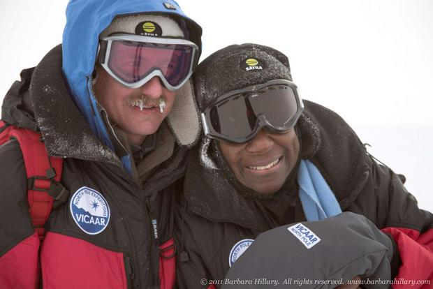 79-year-old is first African American woman to reach both Poles