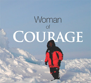 Lung cancer survivor achieves her North Pole dreams.